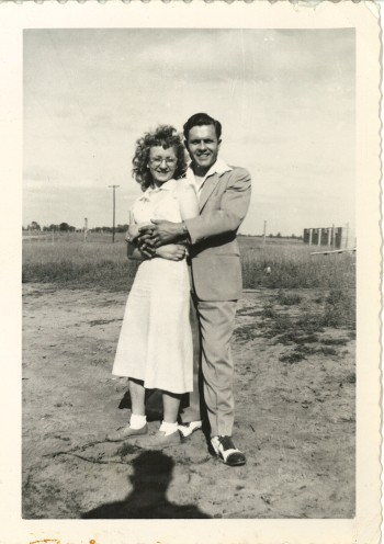 My parents, Harold and Norma Nichols, in 1947