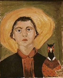 The famous self-portrait